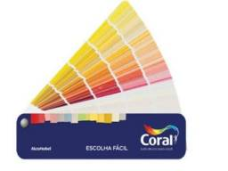 Leque fácil de cores