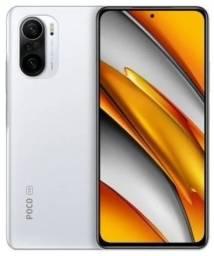 Smartphone Poco F3 Branco, novo e lacrado na caixa + Brinde
