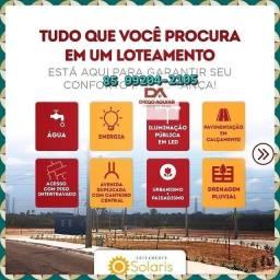 Título do anúncio: Lotes às margens da Avenida Deputado Paulino Rocha - Solaris Gererau @#