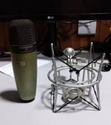 Microfone Condensador Samson C01 (estúdio, Locução) Xlr