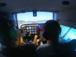 Título do anúncio: Simulador Cockpit Voo Completo Cessna 172