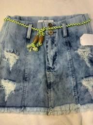 Título do anúncio: Saia jeans 25,00 tamanho 38
