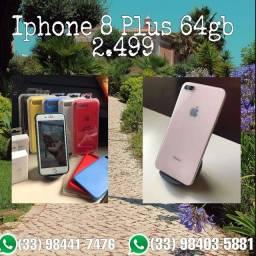 Título do anúncio: Iphone 8 Plus Rose