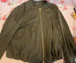 Título do anúncio: jaqueta verde musgo