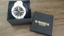 Relógio Casio G-shock Ga-500-7a Branco Ga500-1a Novo Lançamento comprar usado  São José Dos Campos