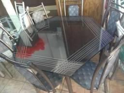 Conjunto de jantar 6 cadeiras