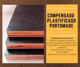 Compensado Plastificado 2.200X1.100 X 12mm - Novo