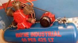 Vendo compressor Wayne 60 pes 425 litros