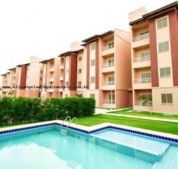 APT 149, Parangaba, Residencial Tulipas, apartamento com 02 quartos, piscina