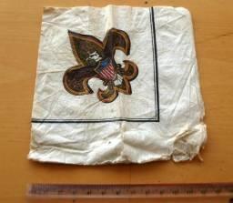 Colecionável - Antigo Guardanapo Com Motivo Escoteiro - Scouts - Anos 90