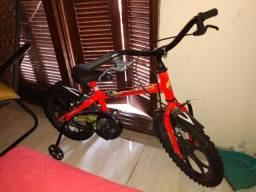 Bicicleta menino aro 16 nova