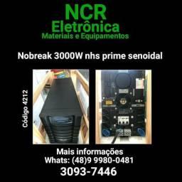 No break 3000w nhs prime senoidal (NOVO)
