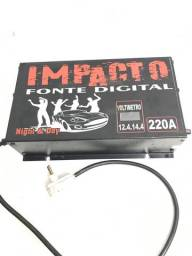 Fonte digital impacto