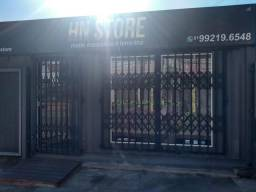 Alugo loja comercial de container