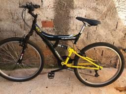 Bicicleta Track Bikes Tb100 Mountain Bike Amarelo/Pto Aro 26