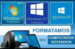 Atualização do windows tenho desktops notbooks passo cartão