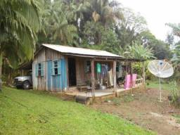 Chácara com 2 dormitórios à venda, 8465 m² por r$ 450.000 rodovia br 277, 10000 - morretes