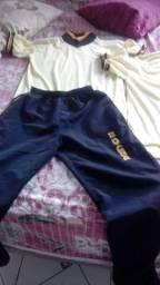 Duas Blusa e uma calça de farda do Colegio Ruy Alencar
