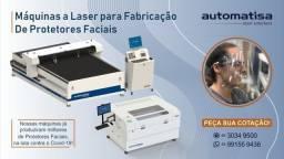 Máquina Laser para Fabricar Protetores Faciais - Face Shield