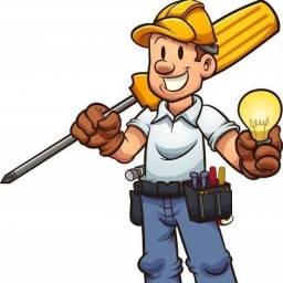 Eletricista residencial. Orçamento sem compromisso. Whatsapp (43) 9  *