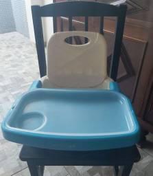 Cadeirinha de alimentação portátil