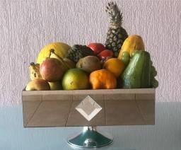 Fruteira espelhada mesa