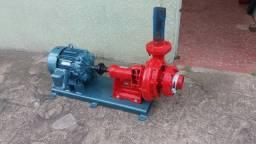 Super Motor Bomba para Irrigação 15cv todo revisado estado de novo