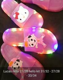 Slides led de personagens $$ 60,00