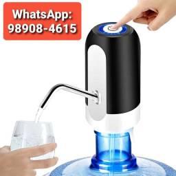 Bomba Elétrica Universal Carregamento USB Galão Garrafão de Água