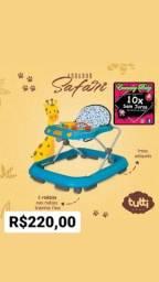 Título do anúncio: Andador Safary Tutti Baby Musical( Entregamos)