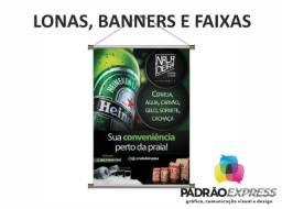 Título do anúncio: Fábrica de Banner, faixa, lona com ilhós ou banner em tecido.
