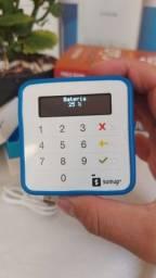 Título do anúncio: Maquininha de cartão bateria recarregável linkpagamentos cartão