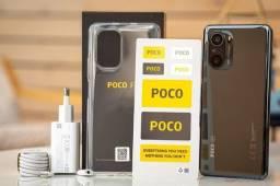 Xiaomi Poco F3 5G 10X S/Juros 128GB/6Ram/1Ano de Garantia/Snapdragon 870/Loja Fisica/48MP