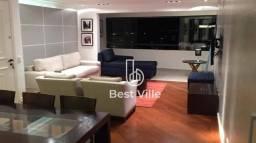 Apartamento com 4 dormitórios para alugar, 156 m² por R$ 7.715/mês - Edifício Alpha Clube