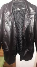 Jaqueta de couro.....