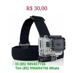 Suporte Cabeça GoPro Câmeras de Ação