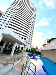 Título do anúncio: Excelente apartamento em Capim Macio (94 m², andar alto, 3/4 sendo 01 suíte)
