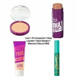 Título do anúncio: Kit Presente Maquiagem - Make+Bela com 4 itens