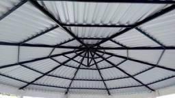 telhados e m estruturas metálicas