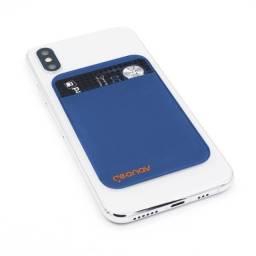 Porta cartões universal Geonav Slim Card Azul