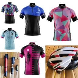 Camisas femininas e acessórios de ciclismo