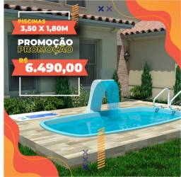 Promoção - Piscina de Fibra - Linha Premium