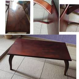 Mesa de centro madeira cerejeira