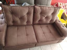 Sofá retrátil / reclinável com Pillow