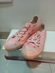 Tênis All Star rosa