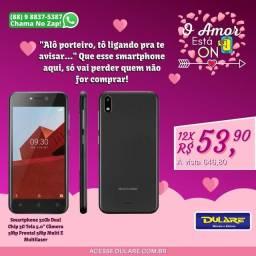 "Smartphone 32Gb Dual Chip 3G Tela 5.0"" Câmera 5Mp Frontal 5Mp Multi E Multilaser"