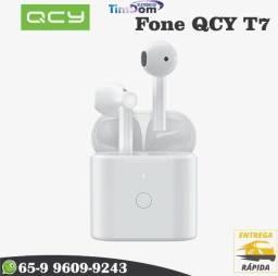 Fones De Ouvido Qcy T7 Bluetooth 5.1 True Wireless Encaixe Perfeito