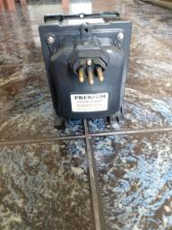 Vendo transformador de 5000 v e tubo de cobre