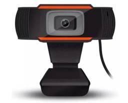 Webcam Câmera De Computador C/ Microfone 720p Usb Hd