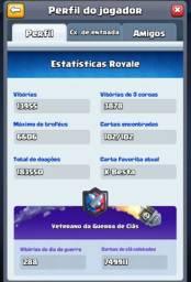Conta lv13 de Clash Royale